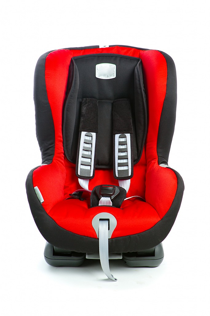 EzBrand Child Safety Seat Black/Red