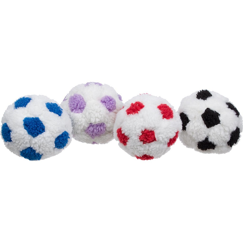 Petco Berber Soccer Ball Plush Dog Toy